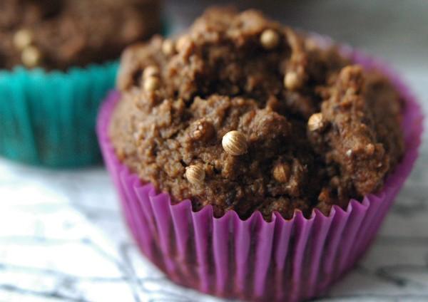 Coriander Rye Muffins